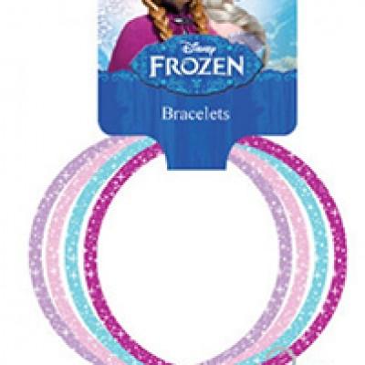 Frozen Glitter Bangles W/ Heart Charm Just $5.99 (Reg $9.99