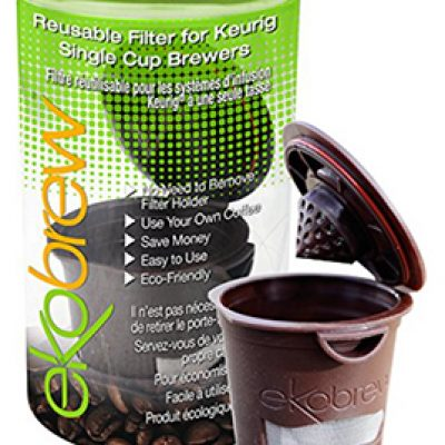 Ekobrew Cup, Refillable Cup for Keurig K-cup Brewers Only $4.50