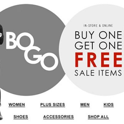 Forever 21 BOGO Free Sale