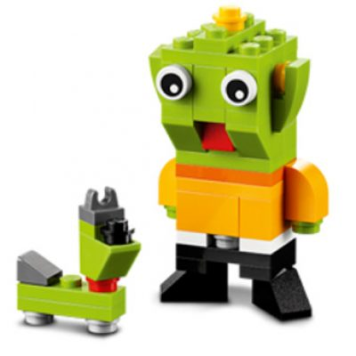 Free Lego Alien & Space Dog - Today Only