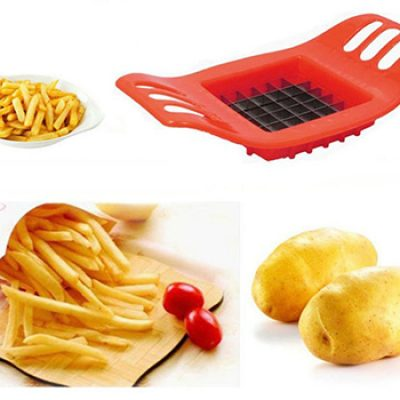 Vktech Stainless French Fry Cutter Only $2.69 + Free Shipping