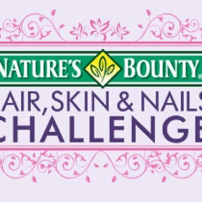 Nature's Bounty: Hair, Skin & Nails Challenge