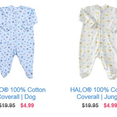 Halo Baby Clothing Sale