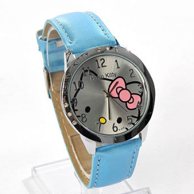 Hello Kitty Large Round Face Watch Only $4.64 + Free Shipping