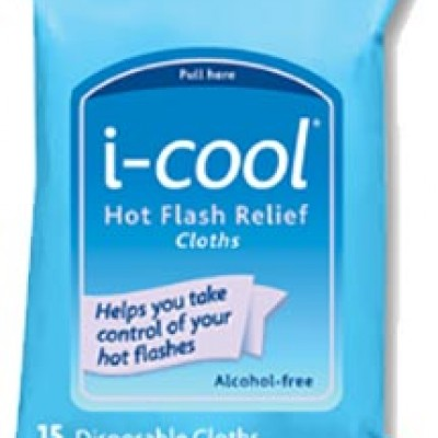 Free i-cool Hot Flash Relief Cloths Samples