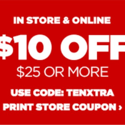 JCPenney: $10 Off $25 Or More Until 01/11