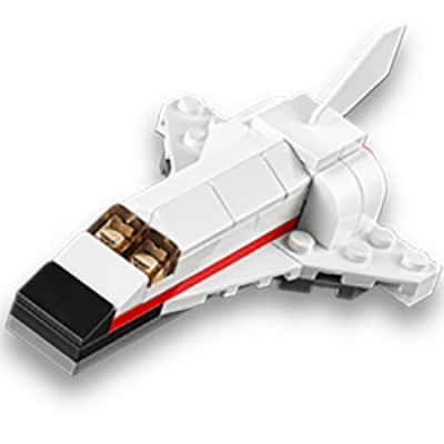 Free LEGO Space Shuttle