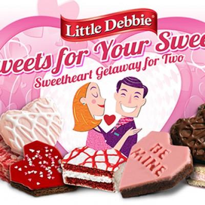 Litte Debbie: Win A Sweetheart Getaway For Two