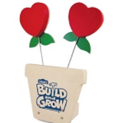 Lowe's Kid's Clinics: Free Sweetheart Picture Holder
