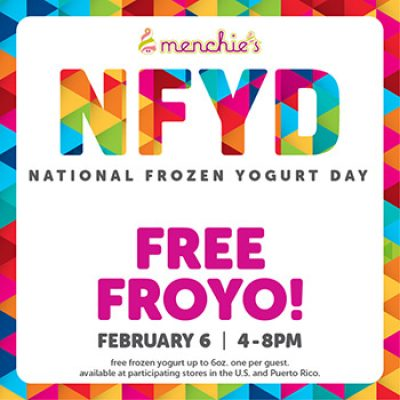 Menchies Free Froyo
