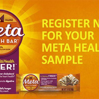 Free Meta Health Bar Samples From CVS