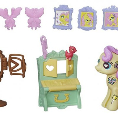My Little Pony Pop Fluttershy Cottage Decorator Kit For Just $5.08 (Reg $11.99)