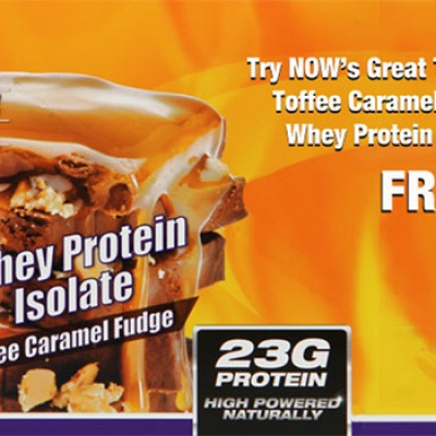 Free NOW Sports Whey Protein Samples