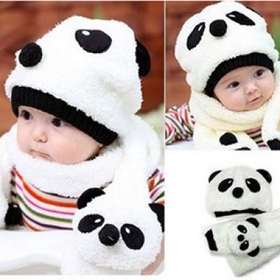 Panda Baby Cap Only $4.97 + Free Shipping