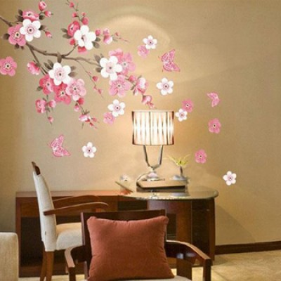 Plum Blossom Flowers Wall Decal Just $3.33 + Free Shipping
