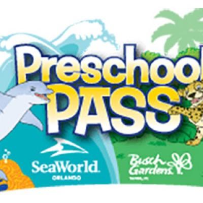 PreSchool Pass: Free Admission to Busch Gardens & Sea World
