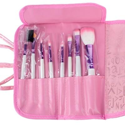 professional cosmetic makeup brush set w/ bag just 313