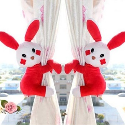 Rabbit Toy Window Curtain Tiebacks Only $7.99 + Free Shipping