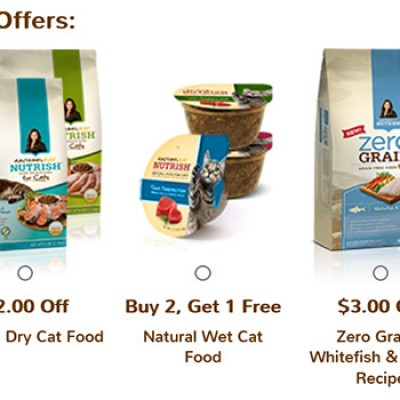 Rachael Ray Cat Coupons