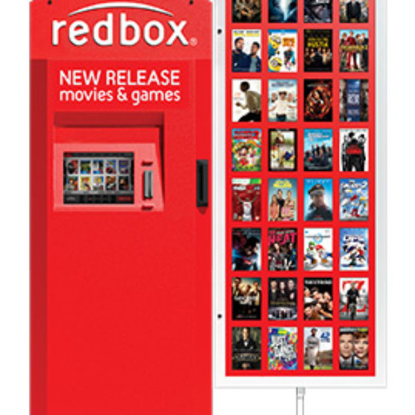 Free Redbox One-Day DVD Or Blu-Ray Rental