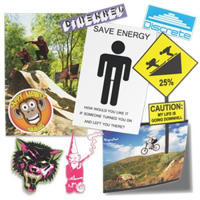 Free Vinyl Stickers
