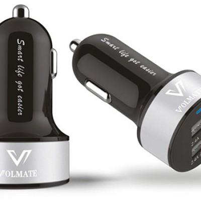 Volmate Apple Certified Dual-Port USB Car Charger Just $9.99 (Reg $89.99)