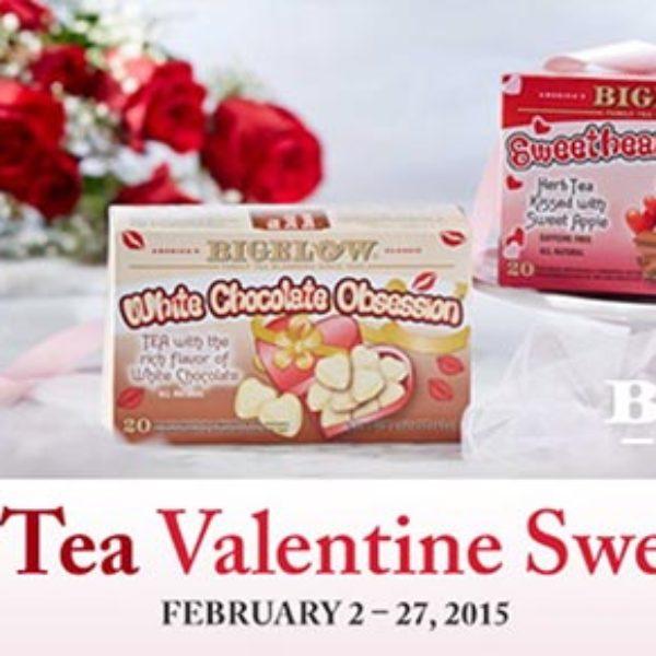 Win A Bigelow Valentine Tea Duet