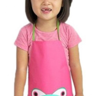 Children's Cartoon Frog Apron Only $2.63 + Free Shipping