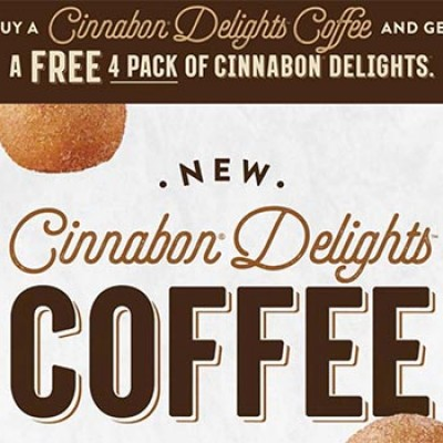 Taco Bell: Free Cinnabon Delights W/ Purchase