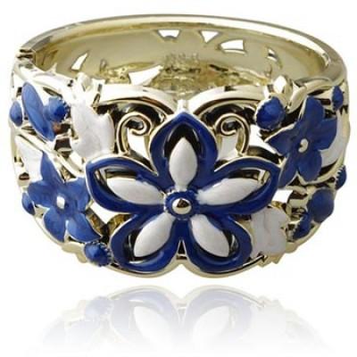 Enamel Flower Bracelet Only $3.06 + $2.00 Shipping