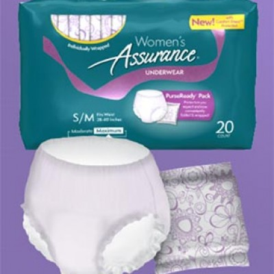 Free Equate Women's Assurance Underwear Samples