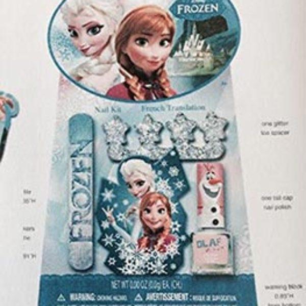 Disney Frozen Nail Kit Only $3.99 + Free Shipping
