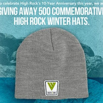 Win One Of 500 High Rock Winter Hats