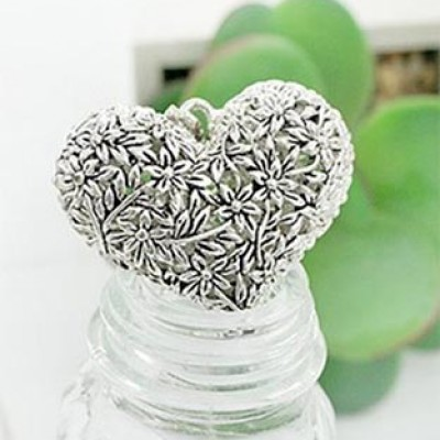 Hollow Out Heart Pendant Only $1.95 + Free Shipping