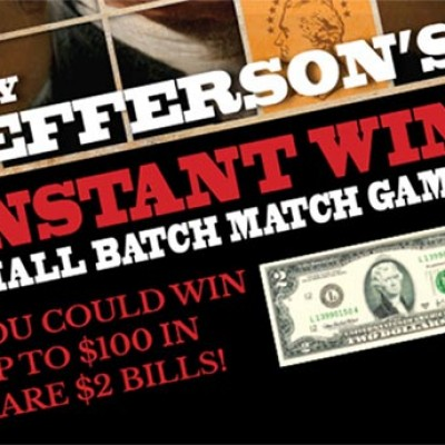 Win Up To $100 In Rare $2 Bills