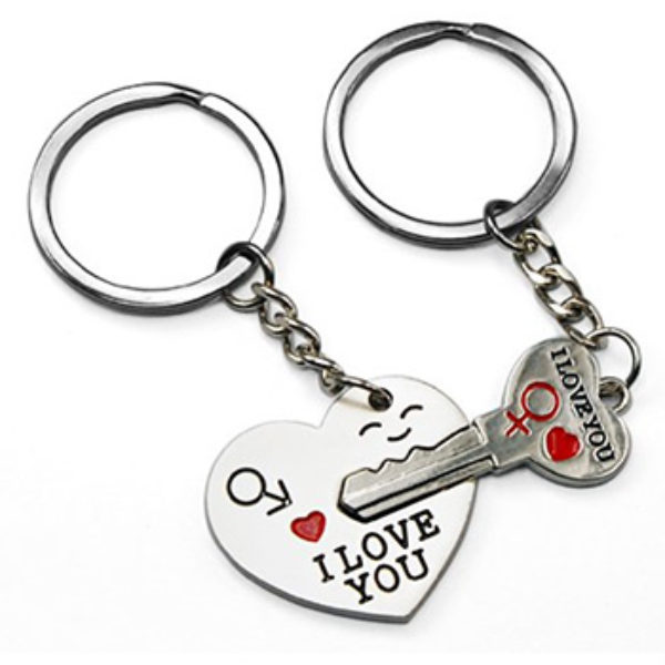 Key to My Heart Keychains: Just $0.98 + Free Shipping