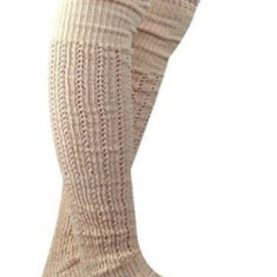 Lace Trim Cotton Knit Leg Warmers Only $7.72 + Free Shipping