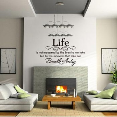 Life Is Not Measured Wall Decal Only $4.03 + Free Shipping