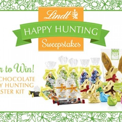 Lindt: Win A Happy Hunting Easter Kit