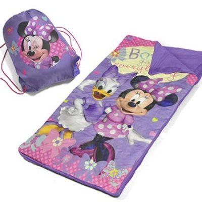 Disney Minnie Mouse Slumber Bag Set Just $9.98 (Reg $19.99)