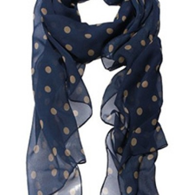 Polka Dot Scarf Only $2.55 + Free Shipping