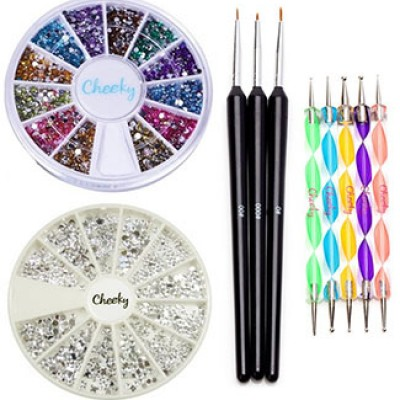 Professional Nail Art Set Kit Only $5.99 + Free Shipping