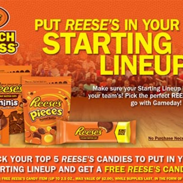 Free Reese's Candy