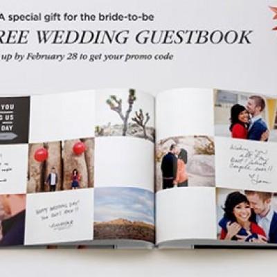 Shutterfly: Free Wedding Guestbook