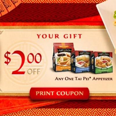Tai Pei Frozen Asian Food Coupon