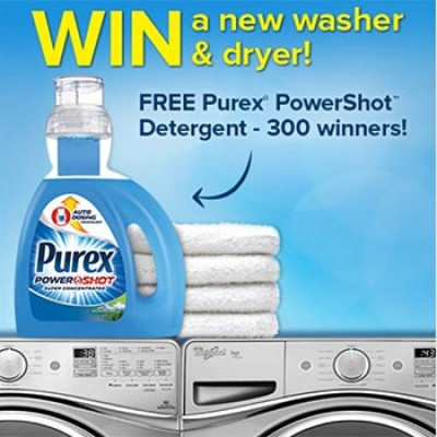 Win $1,000 + Year's Supply Of Purex
