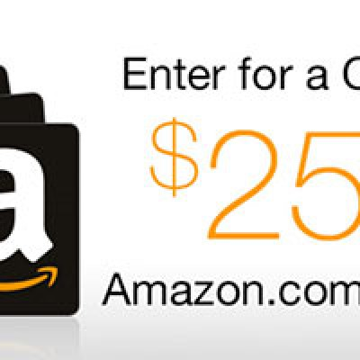 Win A $25,000 Amazon Shopping Spree