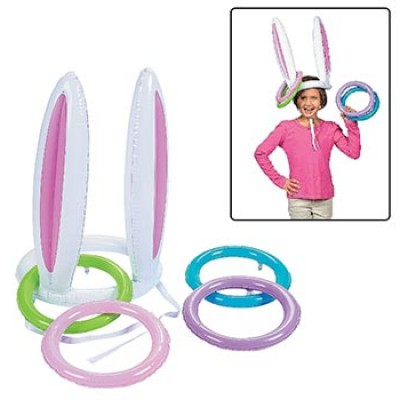 Inflatable Bunny Ears Ring Toss Game Only $7.07