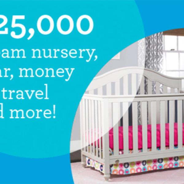 Fisher-Price: Win A $25,000 Dream Nursery
