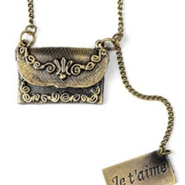 Openable Letter & Envelope Pendant Just $8.55 + Free Shipping